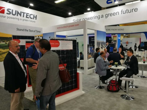Suntech Showcases Signature Solar Modules at the 2017 Solar Power International in Las Vegas